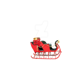Sleigh With Bag by FairieGoodMother