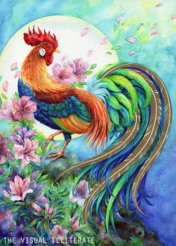 Year of the Rooster 2017 by thevisualilliterate