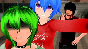 .: Selfy Time! :. by IGetHighWithPeelz