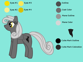 OC Ref: Mrs. Gale Force by Kendell2
