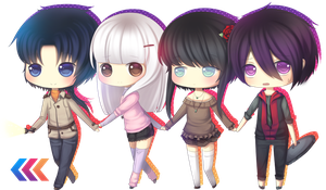MM: Chapter 6 - Awesome Chibi Sweeties Teamu by Amacchu