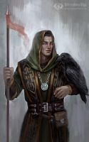 Thrandred the Blind (Commission) by IcedWingsArt