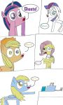 Ponies Being Haunted by MonstrousPegasister