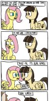 Where Fluttershy Learnt the Stare by timsplosion