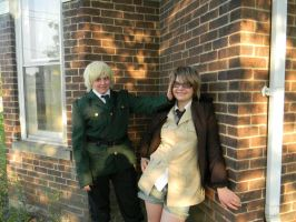England's run and hide adventure! part 7 final! by okamixcosplayer