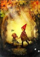 Over the Garden Wall by yellowhima