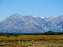 Wyoming Mountians by xdancingintherain