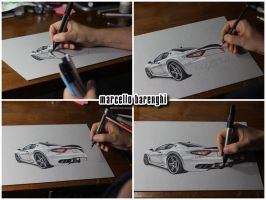 Maserati car WIP by marcellobarenghi