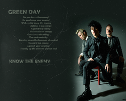 Green Day - Know the Enemy by MartyPunk13