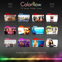 Colorflow TV Folder Icons by Crazyfool16