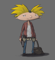 Hey, Arnold.. by Liger69