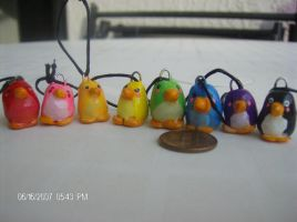 Penguin Charms by Azmila