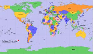 world love political map by fabvis