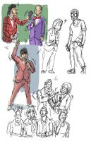 Quick Sketch People 09 2013 01 by yen-wen-hsieh