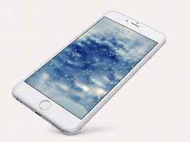 Xmas Wallpaper for iPhone 6 and 6 Plus by kiwimanjaro