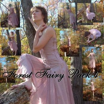 Forest Fairy Pack 5 by Nekoha-stock