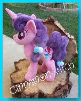 my Little Pony Sugar Belle Plush by CINNAMON-STITCH