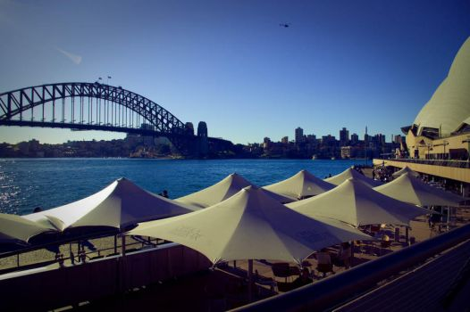 Harbour Bridge by Lasuna