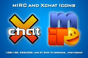 mIRC and Xchat Icons Vectored by sircle