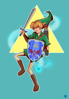 The Hero by ohparapraxia