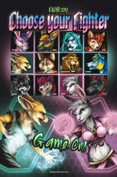 Choose Your Fighter Poster- FINAL ROUND by GoldenDruid