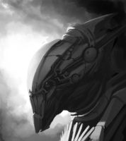 ALien SKETCH by dasAdam