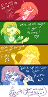 FE-WE'RE UP ALL NIGHT TO... by Kilala04