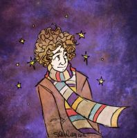 The 4th Doctor by sawebee