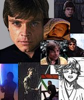 Collage of Luke Skywalker by LadyIlona1984
