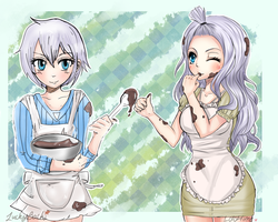 [Collaboration] Baking! by LoloHime