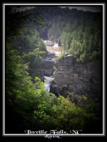 Linville Falls by seiyalover