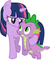 Twilight loves Spike by WWrite
