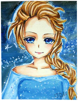 Elsa by GreenTea-Ice