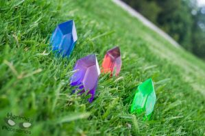 another photo of rupees xD by HarimaSkull