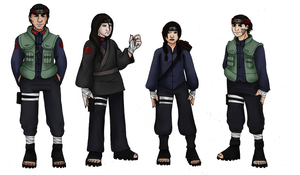 AU Team Gai by innocent-rebel