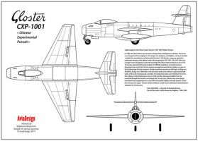 Gloster CXP-1001 real project by Bispro