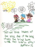Holy Cow-Blind lead the blind by ChibiMomiji123
