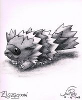 Zagzagoon by johnrenelle