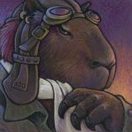 Capybara Aviator by ursulav