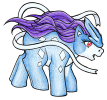 My Little Suicune by Werepuppy