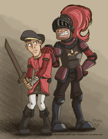 Medieval Fortress: Scout Soldier by Nintendo-Nut1