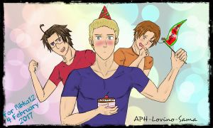 Happy B-Day! by APH-Lovino-sama