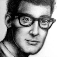 Buddy Holly by Nobody-Parks-Here