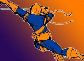 Deathstroke aka Slade updated by Yusef-Muhammed