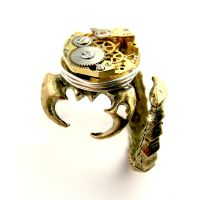 Goth Scorpion Ring Steampunk ish too by SteamSect