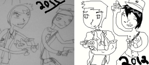 Draw it again 2011-2012 by TheFantasticJess