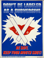 Don't Be Labeled As A Subversive by poasterchild