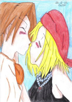 Yoh + Anna by Shaman-King-Lovers
