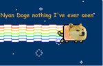 Nyan Doge nothing i've ever seen online ( I'm cere by LaLaShy