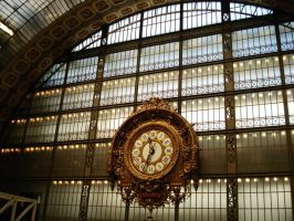 clock - Musee d'Orsay by neurotype